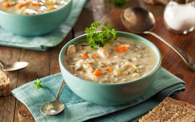 Kokošja juha s rižom
