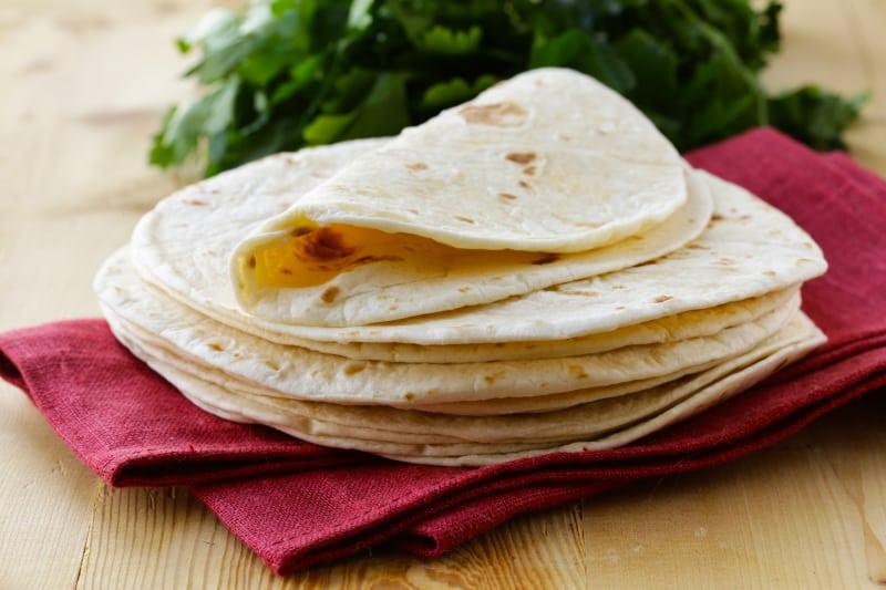 Tortille od pšeničnog brašna