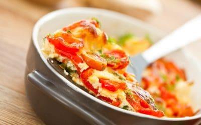 Zapečene slatke paprike sa sirom