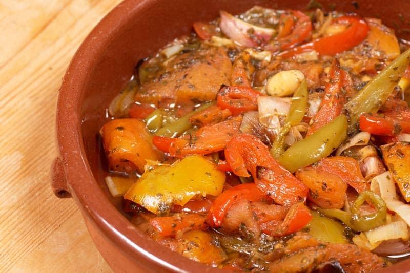 Pirjano povrće za đuveč